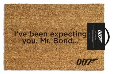 James Bond: I Have Been Expecting You Doormat